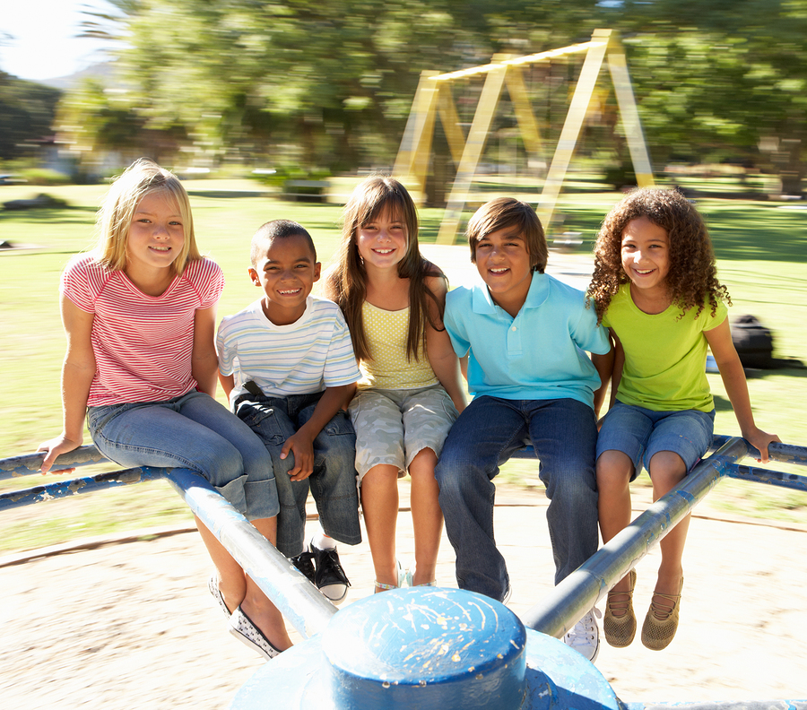 bigstock-Group-Of-Children-Riding-On-Ro-13915781