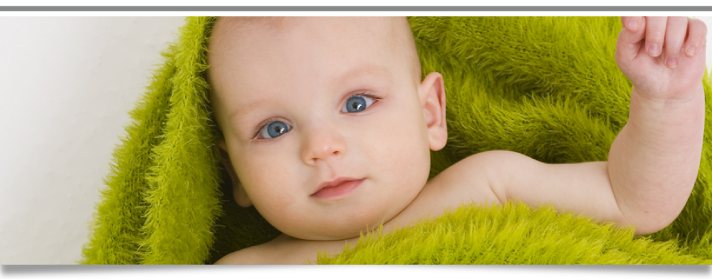 Picture of A Baby With Blue Eyes
